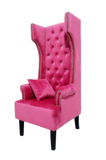 Maximo Pink Accent Chair